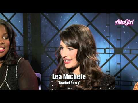 Chris Colfer, Amber Riley, Lea Michele, & Jenna Ushkowitz talk Glee in 3D The Concert Film