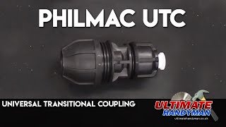 How to join any water pipe | Philmac UTC