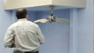Instalar un ventilador de techo