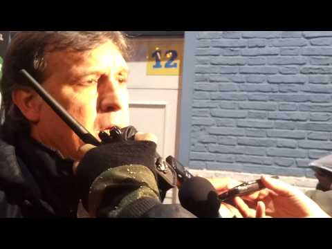 Gerardo Martino tras la victoria en Rafaela