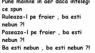 CIA - Ba Esti Nebun lyrics