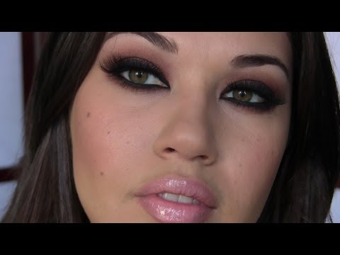Kim Kardashian Inspired Makeup Tutorial,