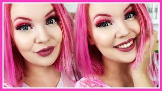 All Pink Makeup Look | Get Ready With Me!