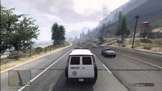 Grand Theft Auto 5 How To Get The Police VAN GTA V