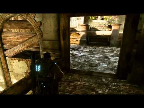 Gears of War 3: Walkthrough - Part 24 [Act 3-4: Ghost Town] (GoW3 Gameplay & Commentary)