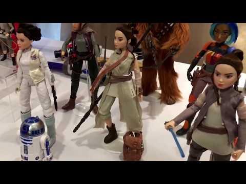 SDCC Hasbro Media Breakfast Star Wars Forces of Destiny 2017 San Diego Comic-Con