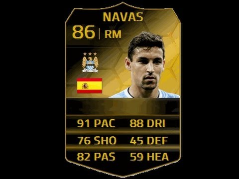 FIFA 14 | IF Jesus Navas Player Review | Best Right Winger In BPL?