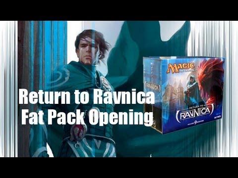 MTG- Return to Ravnica Fat Pack Opening