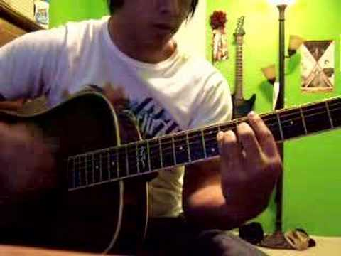 Paramore - Misery Business acoustic cover