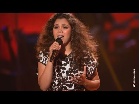 Chita Henneberry sings Girl On Fire | The Voice Australia 2014