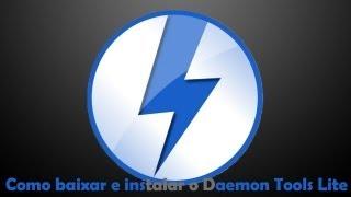 Como Baixar E Instalar O Daemon Tools Lite