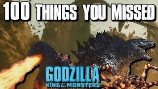 100 Things You Missed In The Godzilla King Of The Monsters Trailer 2