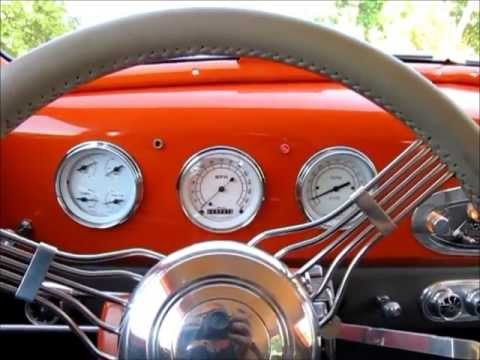 1937 Nash Lafayette Street Rod Test Drive in Sonoma Wine Country