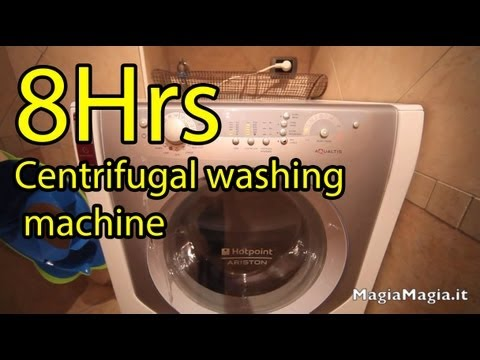 8 hrs Sound of the washing machine spin White Noise