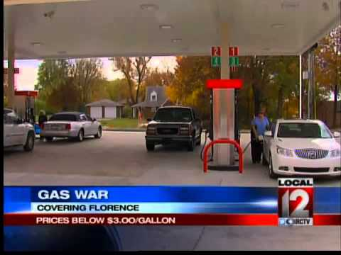 Gas Price War in Florence