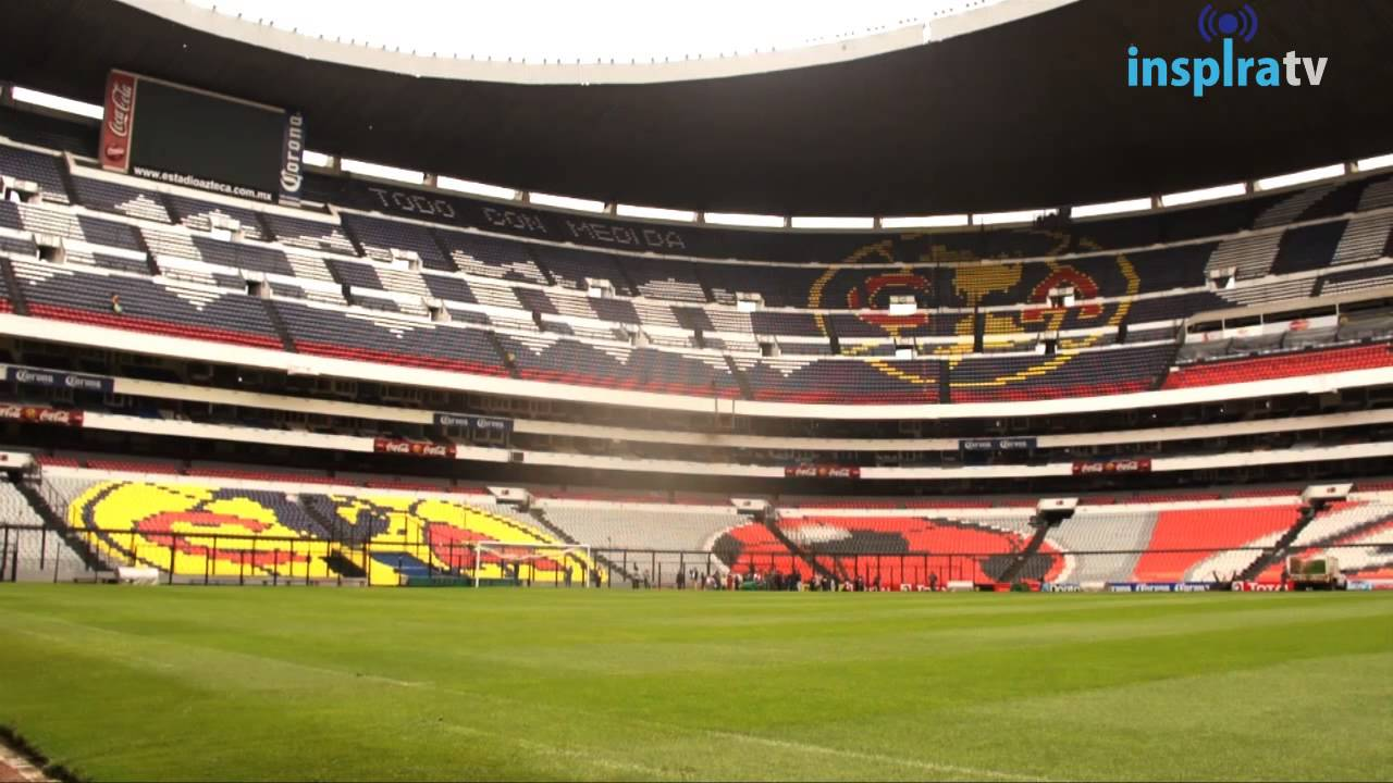 Vagabundeando estadio azteca youtube for Puerta 1 estadio azteca