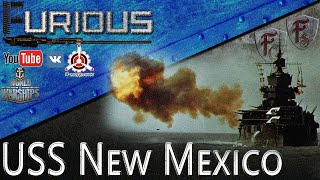 USS New Mexico. Дробовик без прицела