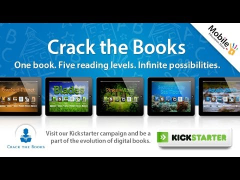 Crack the Books: Digital Books Evolved Kickstarter Campaign. Edukey Educat