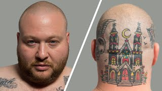 Action Bronson Breaks Down His Tattoos   GQ