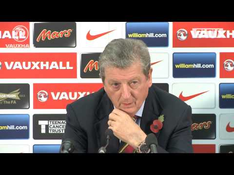 Roy Hodgson on his England squad vs Chile and Germany