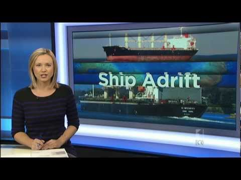 Bulk Carrier Adrift in the Coral Sea - Green Group image