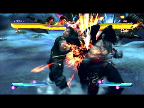 SFxT: Mods Cross Arts - Devil Asuka & Devil Jin vs Young Chris X Rebecca (Slow Motion)