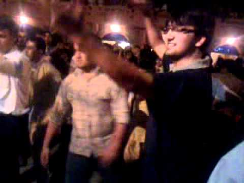 Rizwan and adnan dancing on khowar beat at Lok Versa