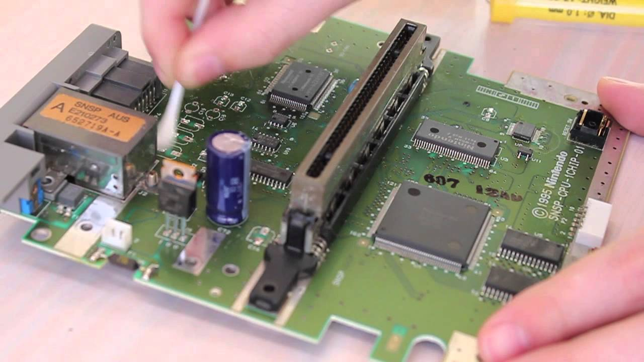 Blog Archives Futurelivin Repair The Circuit Boards Stack Of Damaged Sparky Snes 1chip Serial
