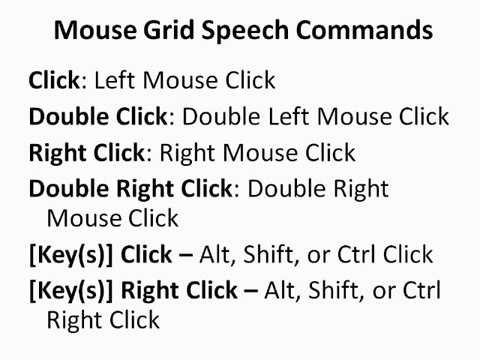 Free Speech Recognition Tutorial 2 - Controlling The Mouse With Mouse Grid