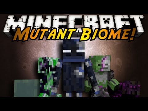 Minecraft Mod Showcase : MUTANT BIOME!, OH GOD THE CORRUPTION IS SPREADING! FROM MUTATED ENDERMAN TO CREEPERS TO EVEN MUTATED BIOMES THEMSELVES! HAAAALP! Download the Mod here! Tell em Sky sent you...