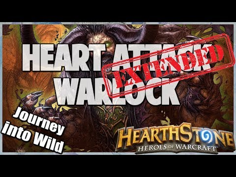 Heart Attack Warlock | Extended Gameplay | Hearthstone | Kobolds and Catacombs