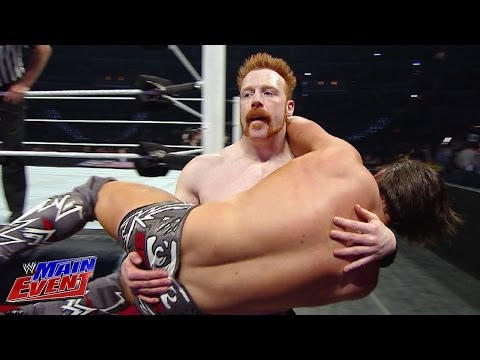 Sheamus vs. The Miz: WWE Main Event, April 1st, 2014