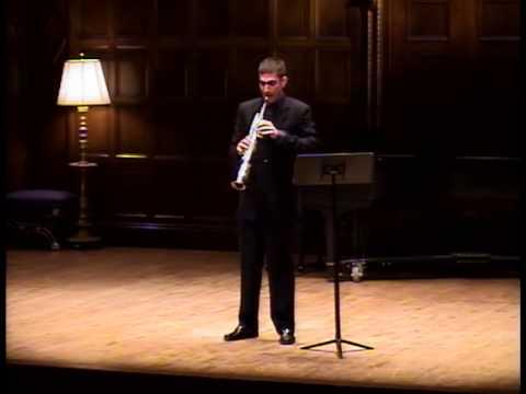 Sequenza VIIb, by Luciano Berio / Doug O'Connor, soprano saxophone
