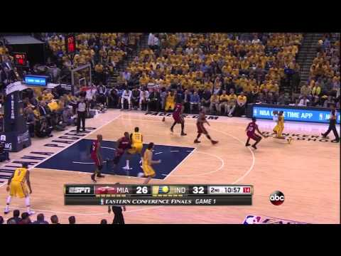 Pacers vs Heat Game 1: How Paul George Helped Light Up LeBron