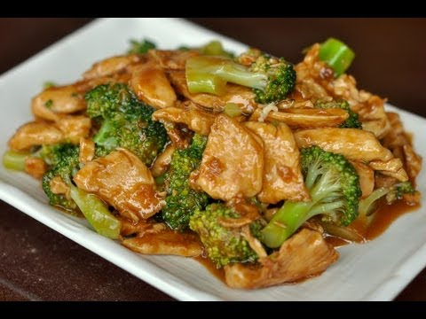Wok Cooking Stir-fry Chicken with Broccoli Recipe / World of Flavor ...