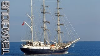 [Tall ship Leaving Port] Video