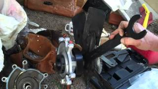 How To Change A Dodge Durango Water Pump. Not Rocket