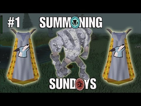 Summoning Sundays - Steel Titan Buff & Charm Collecting to 99! RuneScape
