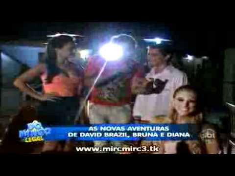 Domingo legal:As aventuras David Brazil diana e bruna no ceara parte2 30/10/2011