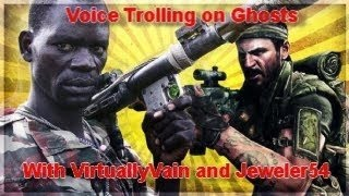 VirtuallyVain and Hank Hill VOICE TROLL on COD Ghosts!