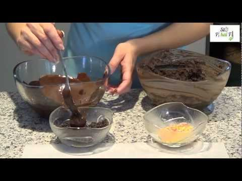 Σοκολατάκια με κρέμα τυρί - Sokolatakia - StoPikaiFi.gr