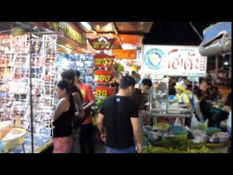 3am streetlife in Pattaya Tai, Pattaya, Thailand