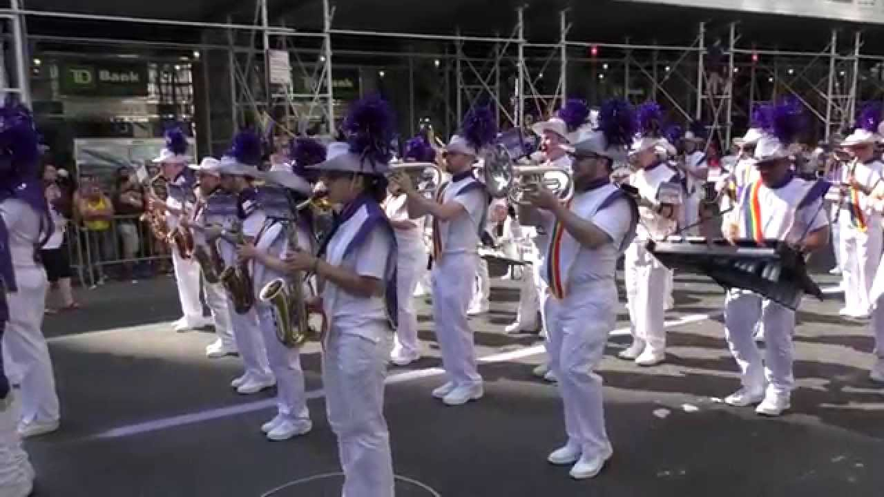 youtube gay marching band
