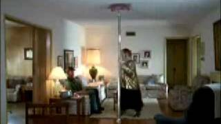 AMP'D Mobile Commercial: Fat Girl Pole Dancing *VERY FUNNY