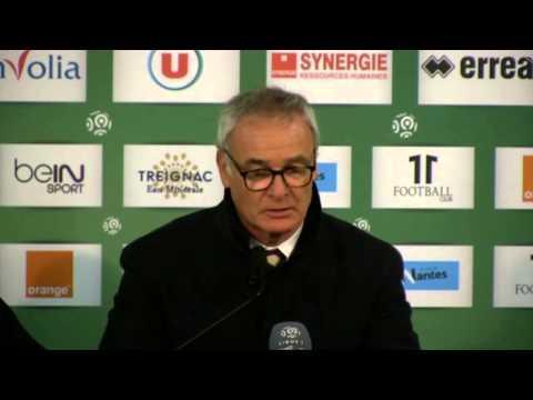 Falcao-Auswechslung: Ranieri verteidigt sich | FC Nantes - AS Monaco 0:1
