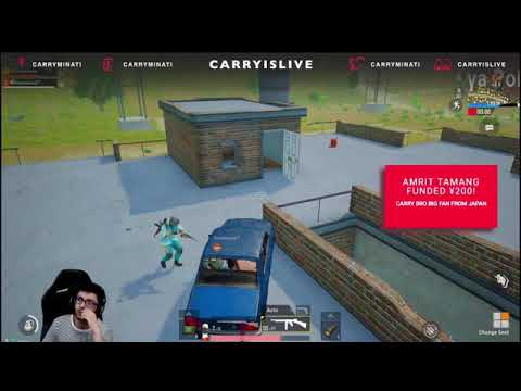 CARRYMINATI FLYING WITH HACKER   FUNNY MOMENTS   SURPRISE TO HACKER WATCH TILL END!!