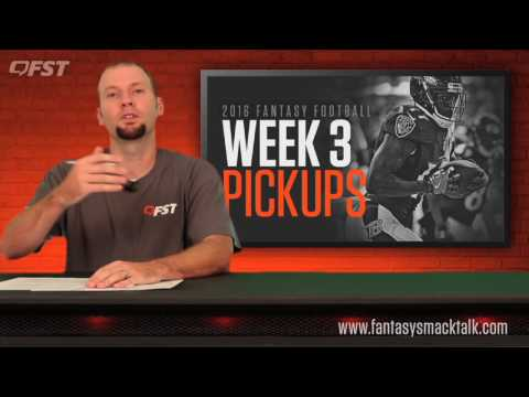 2016 Fantasy Football Week 3 Waiver Wire