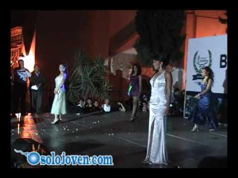 Pasarela Traje de Noche  - Aniversario Colegio de Bachilleres Taxco 2009