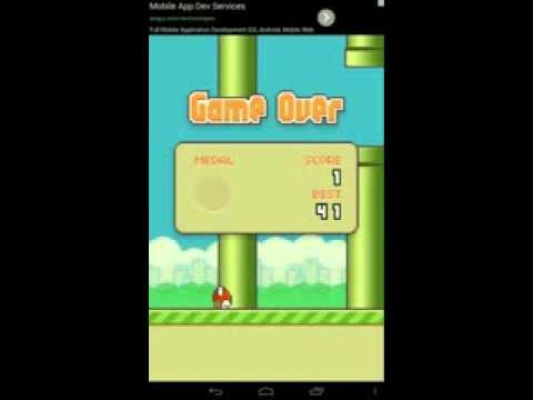 Flappy Bird:The Dumbest Game On Google Play
