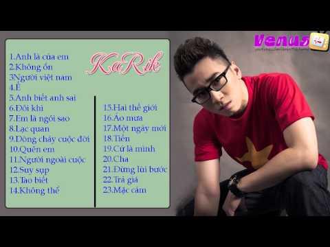 Karik-Tuyển Chọn Những Bài Rap Hay Nhất Của Karik 2015